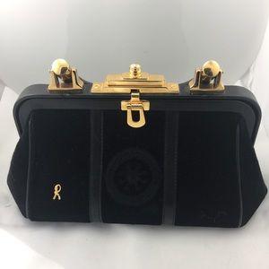 Gorgeous Roberta diCamerino Velvet Doctor Bag!