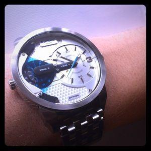 diesel accessories 10 bar watch poshmark. Black Bedroom Furniture Sets. Home Design Ideas