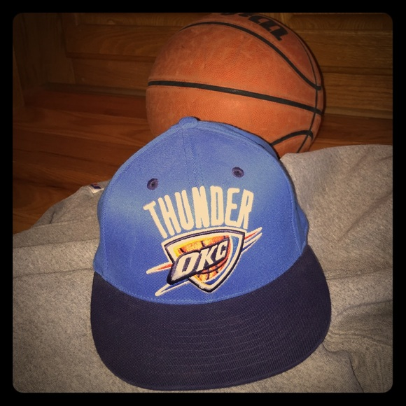 a088c83ba41 Adidas Accessories | Mens Okc Thunder Ball Cap | Poshmark