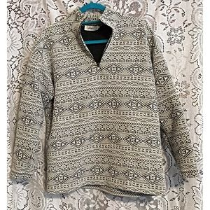 Dash by Kardashian 1/2 zip Pullover Jacket Medium