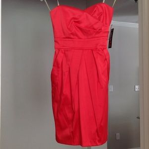 Teeze Me Dresses & Skirts - NWT Strapless cocktail dress with pockets