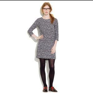 Euc madewell Alexa Chung leopard shift dress mini
