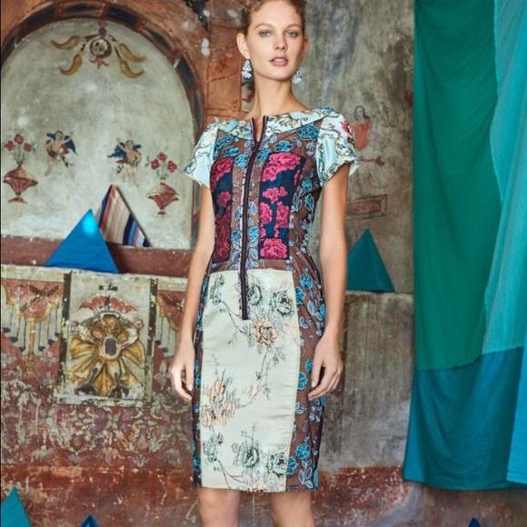 a64d98ccd9bc9 Anthropologie Dresses | Byron Lars Pieced Brocade Dress 6 | Poshmark