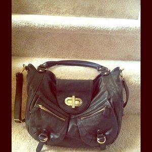 Black purse Crossbody and handbag- Vegan Leather