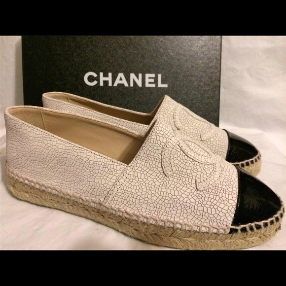 10% off CHANEL Shoes - Chanel espadrilles from Melanie's ...