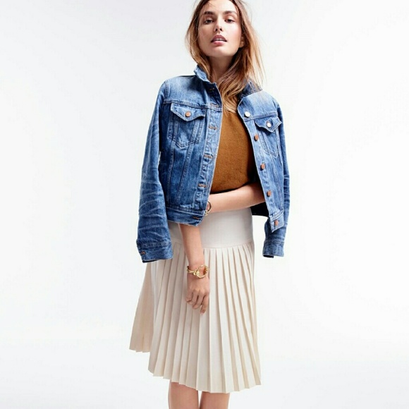 388df52517 J. Crew Skirts | Jcrew Dropwaist Pleated Skirt | Poshmark