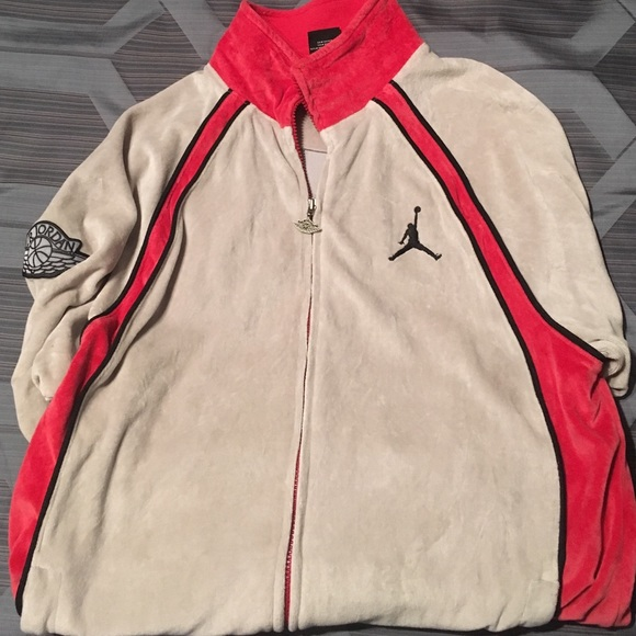 3dcd62b3715a4b Jordan Other - Men s Air Jordan Velour Jacket size Large