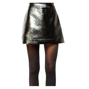 MICHAEL Michael Kors Dresses & Skirts - NWT MICHAEL KORS PATENT FAUX-LEATHER MINI SKIRT 👠
