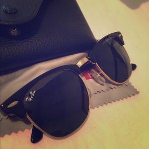 Ray-ban club master sunglasses. NWOT