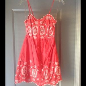 Flying Tomato Embroidered Sun Dress