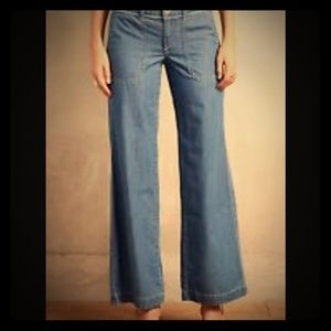 Anthropologie Pilcro Wide Leg Jeans