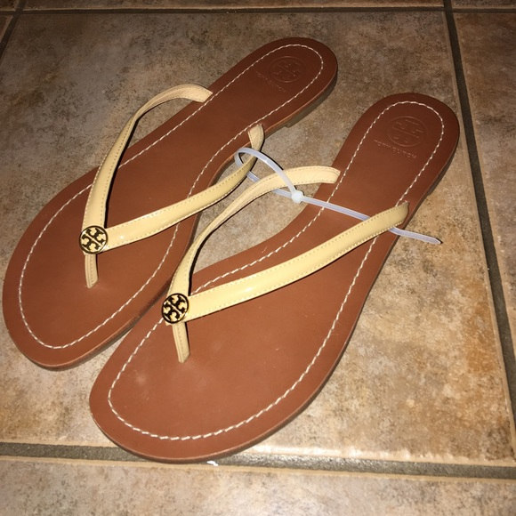 83d71f1088ef Tory Burch Terra Flip Flop Slide Sandal Flats 11. M 57f4403f41b4e09217001bfa