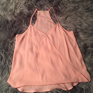 Lily White Tops - Crossover Tank NWOT
