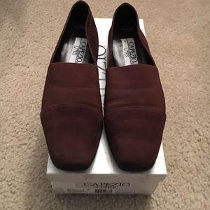 Capezio Shoes - Capezio Chocolate Nubuck Shoes