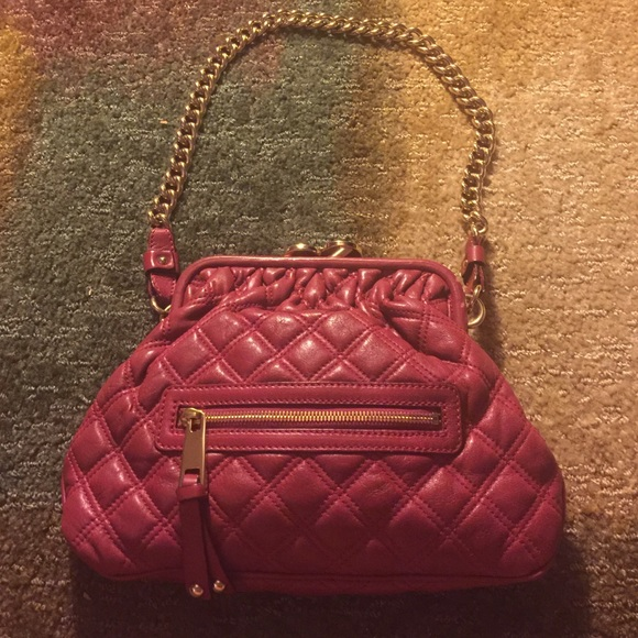 39e6a444ec Marc Jacobs Quilted Red Stam Bag *final price*. M_57f4452441b4e097d20027fe