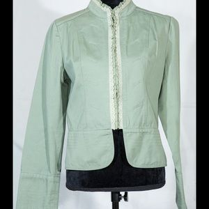 Romeo & Juliet Couture Jackets & Blazers - Romeo & juliet cropped jacket blazer green large