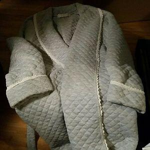 Erika Taylor Intimates   Sleepwear - Ladies Quilted Robe C2 b4acc07e4