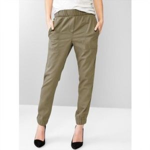 Gap Olive Military Green Joggers Pants
