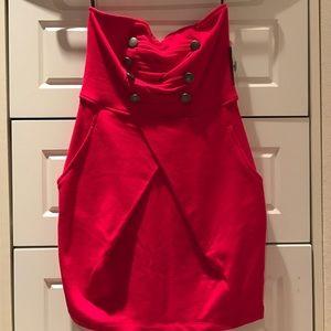 Red Sailor Dress