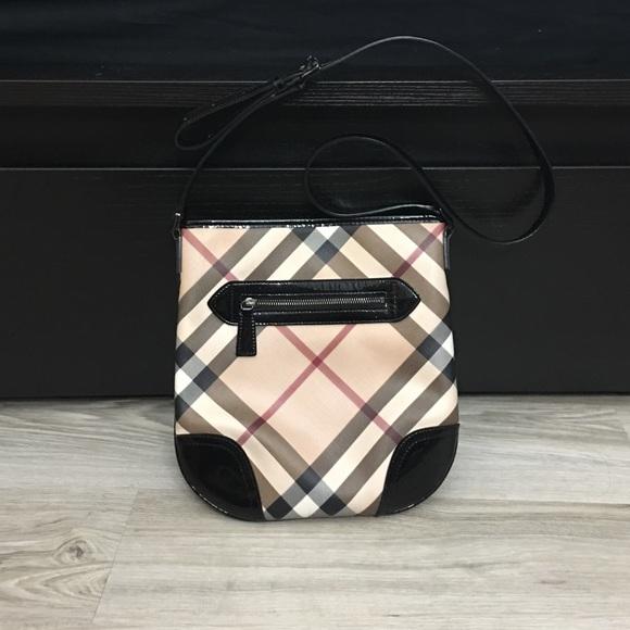 e66466baf3c2 Burberry Handbags - Burberry Supernova Check Dryden Crossbody Bag