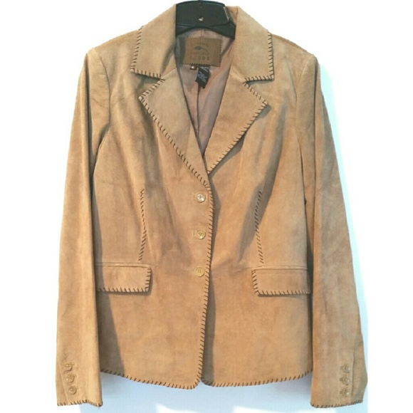 d4b730f5 Bob Timberlake Jackets & Blazers - Bob Timberlake XL Tan Suede Western  Jacket
