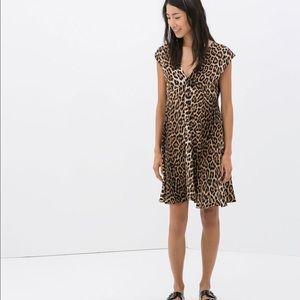Zara Dresses & Skirts - Zara woman leopard print dress
