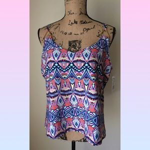 Sweet for Summer Geometric Print Tank top