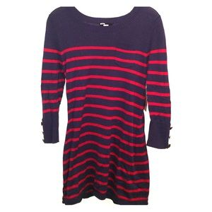 Urban Outfitters Stripped Long Sleeve Dress