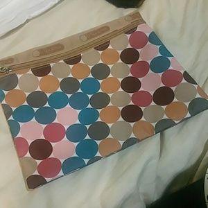 LeSportsac Handbags - Brand new lesportsac pencil case / makeup bag