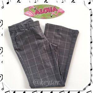 ALLOY Pants - ⬇️$14 Gray Plaid Bootcut Work Pants