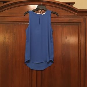 Violet & Claire Tops - Sleeveless royal blue top from Versona size small