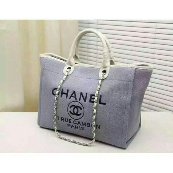3476009b5c01 CHANEL Handbags - Chanel deauville tote