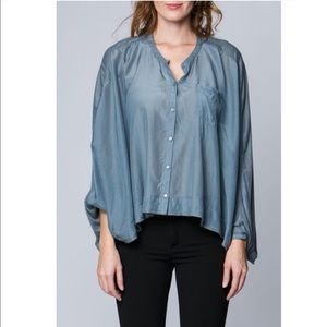 Button Up Style Poncho