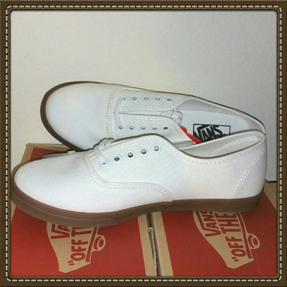 Vans Shoes   Vans Gumsole Authentic Lo Pro Blanc De Blanc   Poshmark