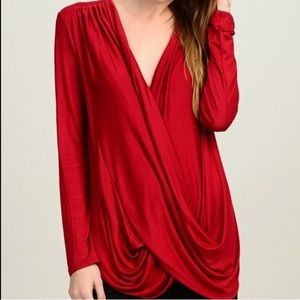 Bellino Clothing Tops - Oh so soft surplice top
