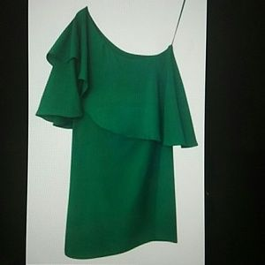 Collective Concepts Green Cocktail Dress