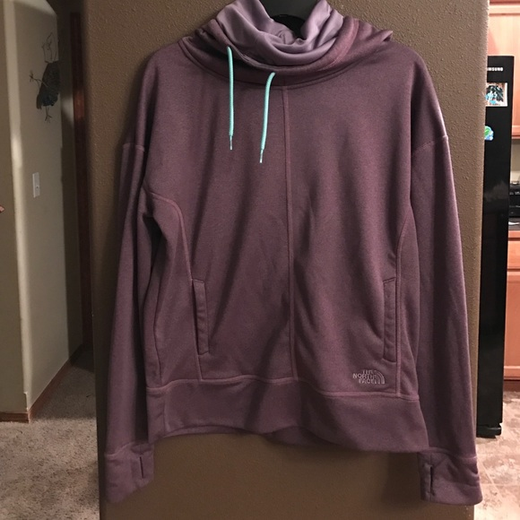 dde142d39 North face cowl neck hoodie