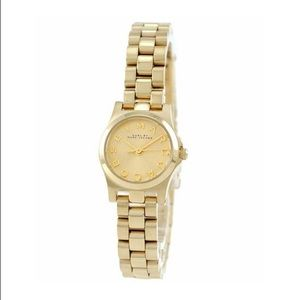 Marc Jacobs Gold Henry Dinky Watch