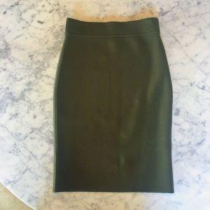 ef44f7ed7b Michael Kors Skirts - MIchael Kors Cashmere Olive Knit Pencil Skirt