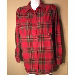 Ralph Lauren Black Label Tops - Lauren Ralph Lauren ButtonUp Plaid Long Sleeve Top