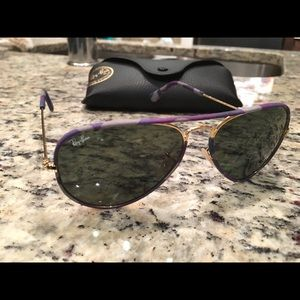 Ray Ban Aviators w| case