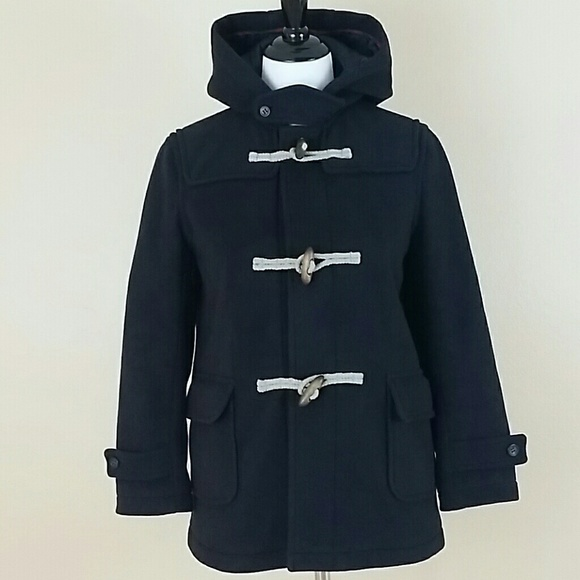 Uniqlo - Warm Dark Blue Hooded Peacoat from ! ** extra petite ...