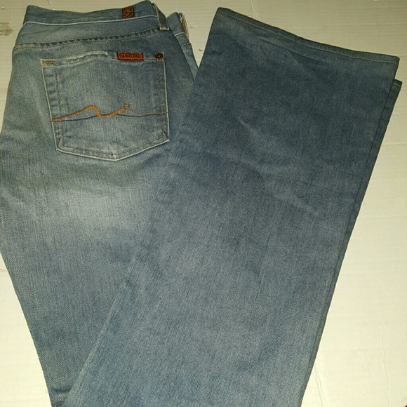 ira partícula Preescolar  7 For All Mankind Jeans | Milan Flare Rigid Jean Vintage | Poshmark