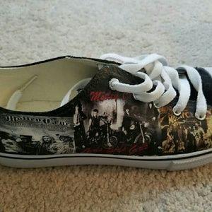Shoes   Rock N Roll Motley Crue Custom