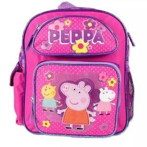 "Peppa Pig Other - Peppa Pig 12"" School Backpack Pink"