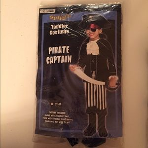 Other - Pirate captain toddler costume