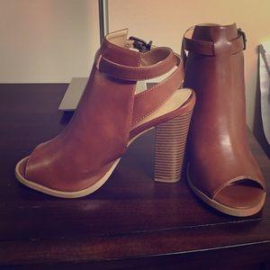 C.I. Castro Shoes - Peep Toe Booties