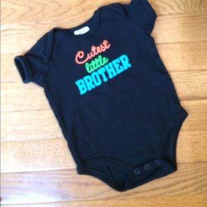 Baby Essentials Other - 👶 Cutest Little Brother 👶 onesie
