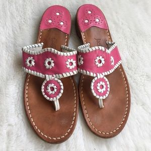 Jack Rogers Shoes - Jack Rogers Pink Sandals size 9.5