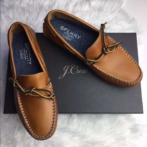 Nwt Sperry For Jcrew Driving Moccasins